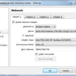 Dodawanie karty sieciowej do maszyny wirtualnej