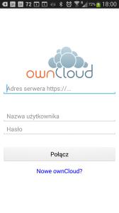 OwnCloud na Androida